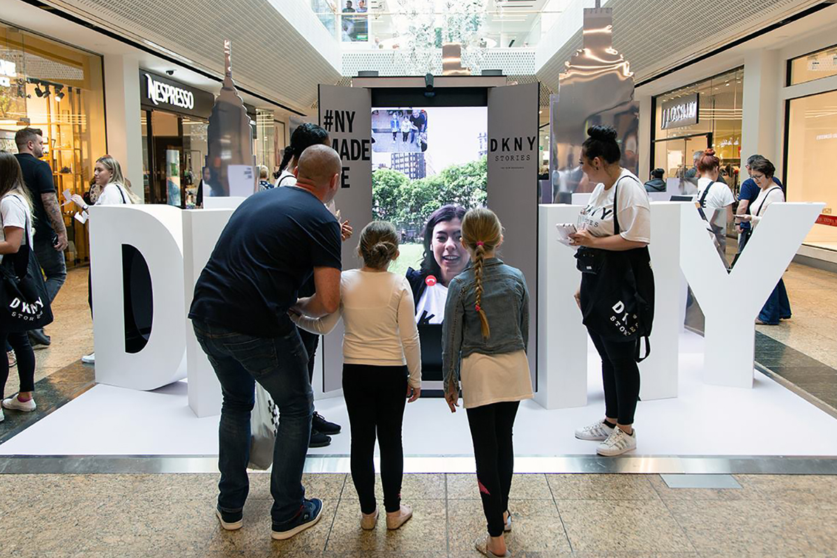DKNY at Meadowhall Brand Experience Sampling arranged by SpaceandPeople