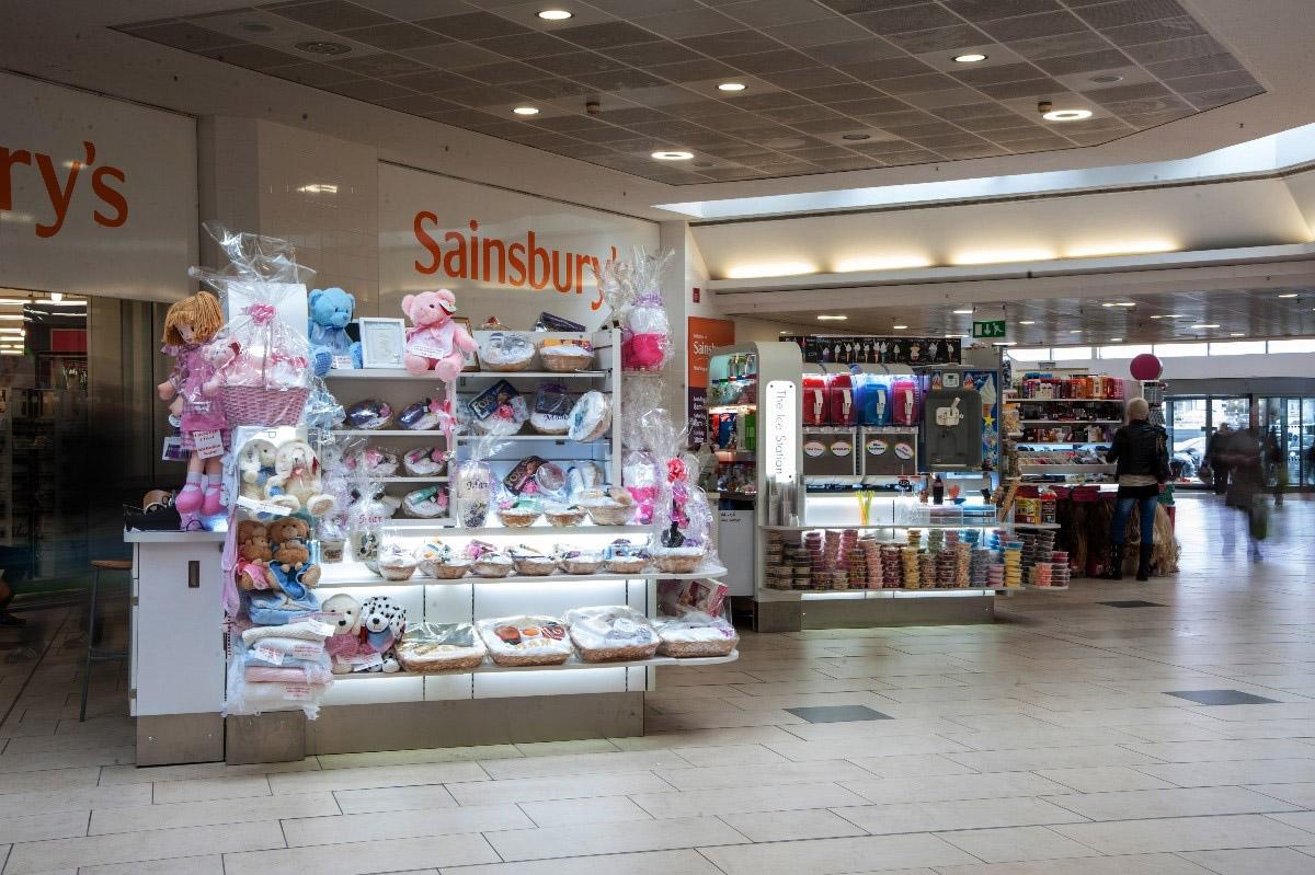 POP Retail short-term mall lease mobile promotion kiosk