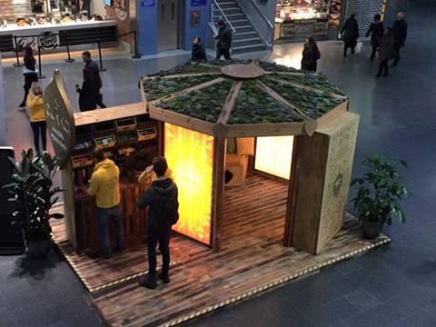Pukka Teas Manchester Piccadilly (via Vivid Design Works)