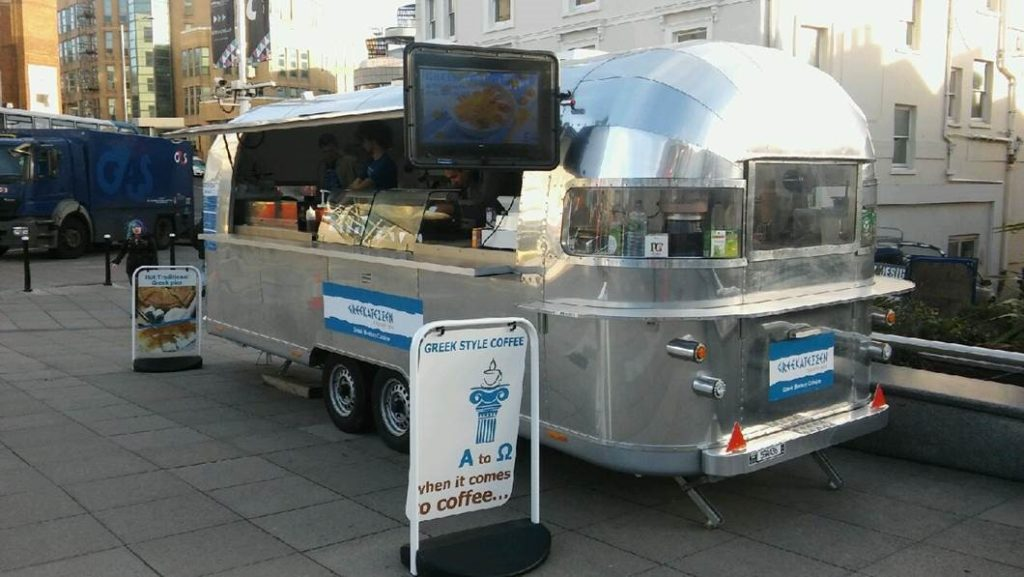 Greekatessan retailing Greek Food at Churchill Square Brighton