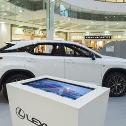 Lexus car promotion at Buchanan Galleries Glasgow