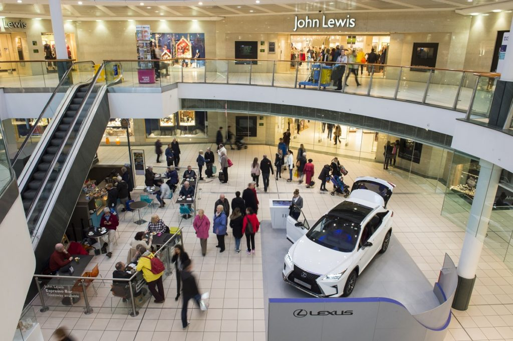 Lexus Returns To Buchanan Galleries Spaceandpeople Plc