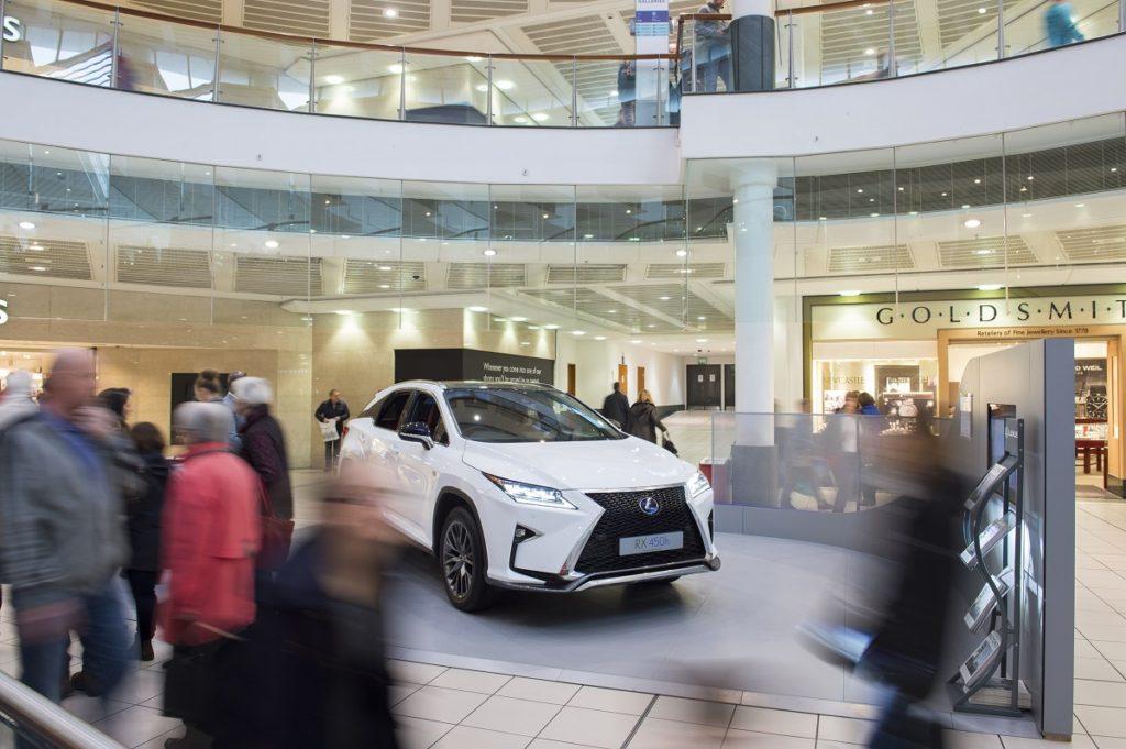 Brand Experience Activation - Lexus at Buchanan Galleries Shopping Centre