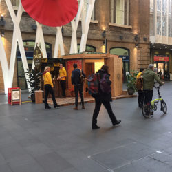 Pukka Teas Promotion in King's Cross Station