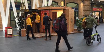 Pukka Teas Promotion in King's Cross Station