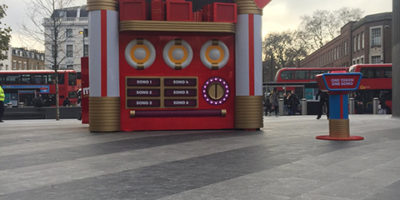 TK Maxx experiential promotion for Christmas