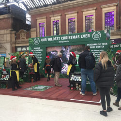 The Body Shop Christmas Pop-Up Shop