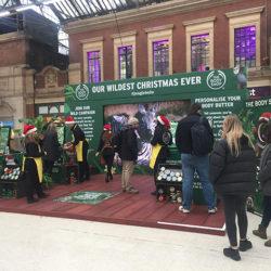 The Body Shop Christmas Pop-Up Shop