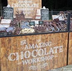 Amazing Chocolate Workshop Pop Up Retail Activity In