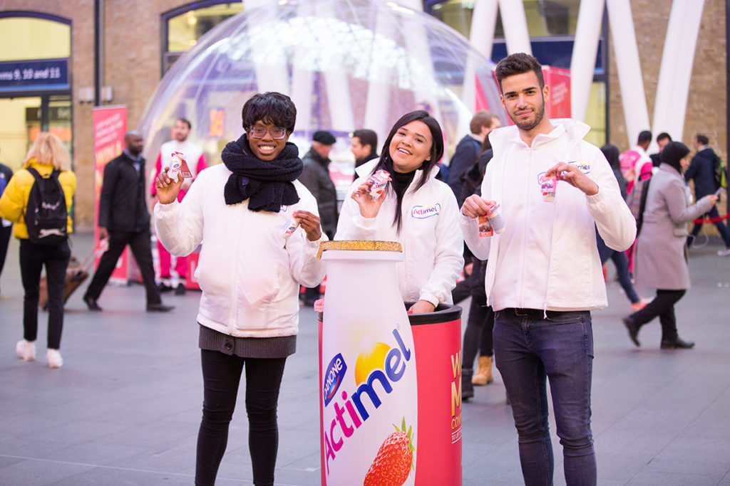 Actimel King's Cross