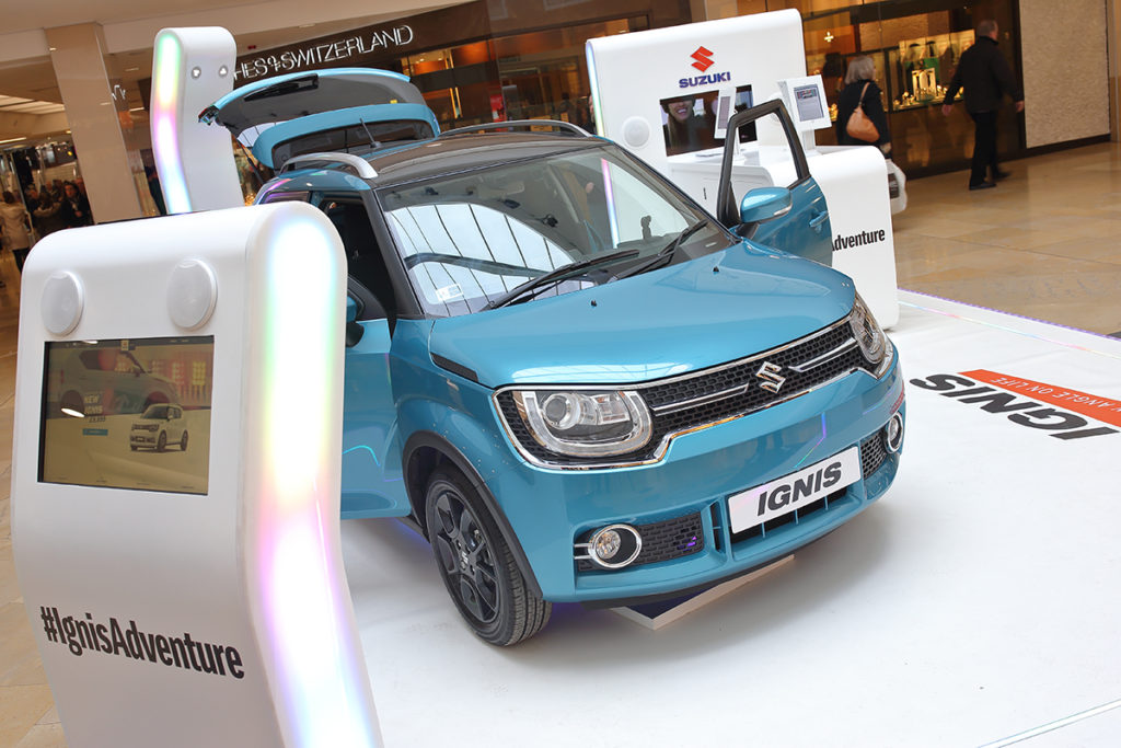 Suzuki Promotion at St David's Shopping Centre