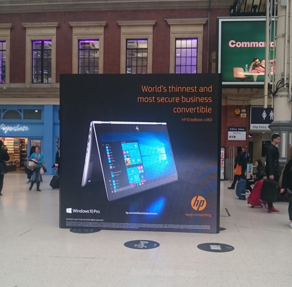 HP Victoria Station Experiential