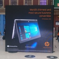 HP at London Victoria Station