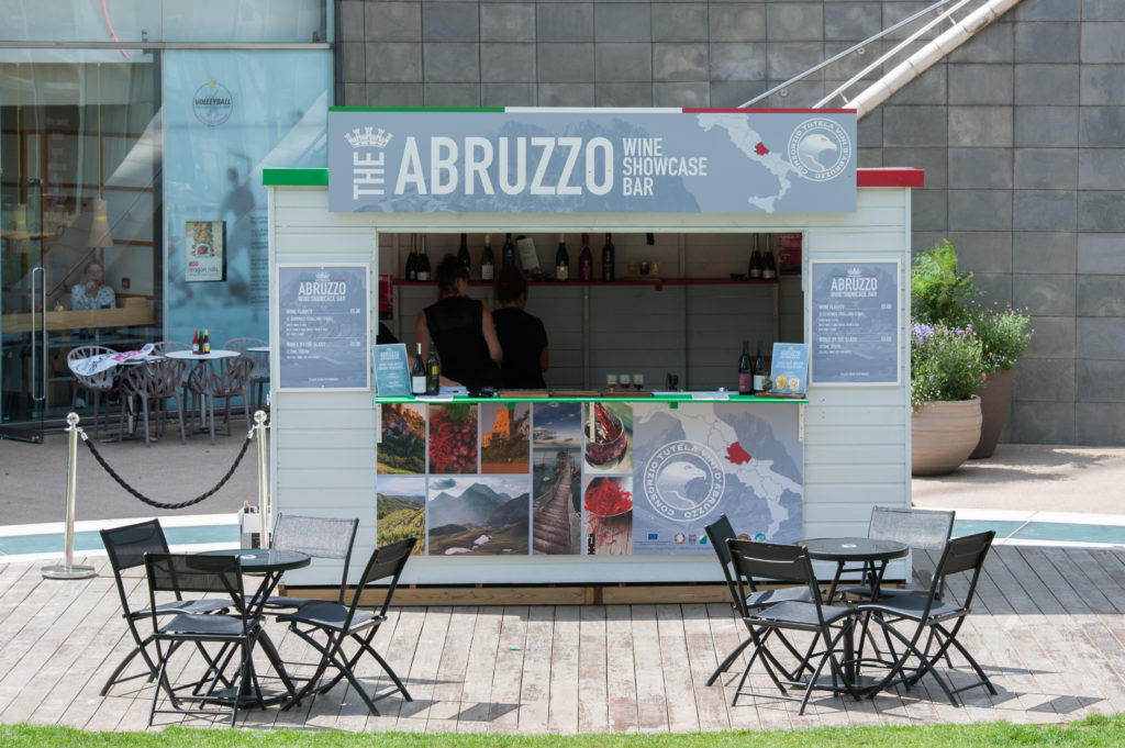 Abruzzo Wine Pop-Up Bar
