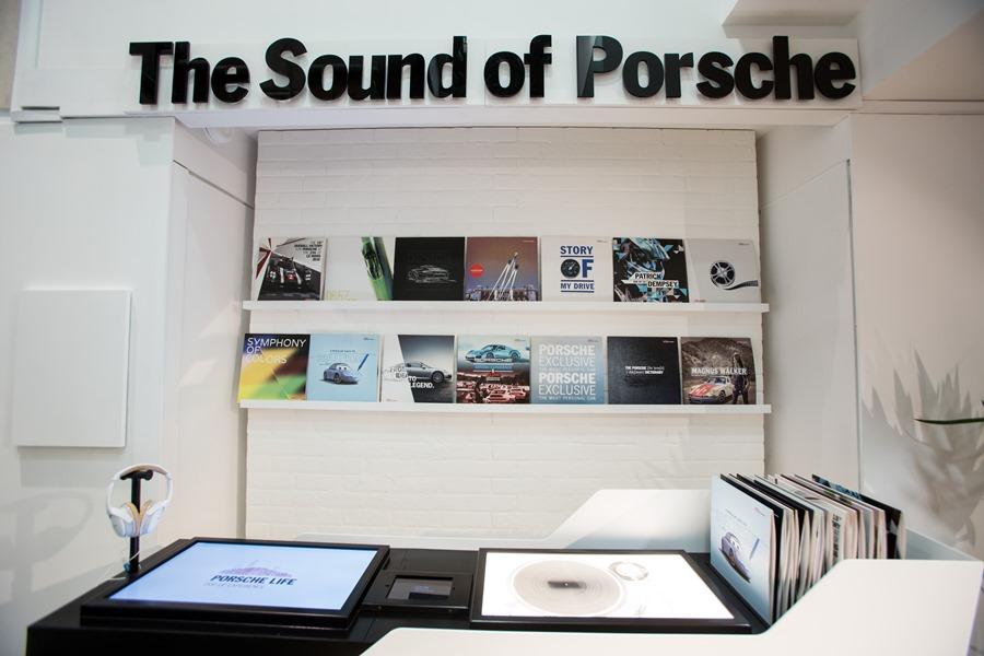 Porsche Pop Up Store in The Buchanan Galleries in Glasgow. Photograph by Martin Shields Tel 07572 457000 www.martinshields.com © Martin Shields