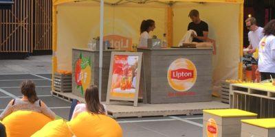 Lipton Ice Tea_Broadgate thumb