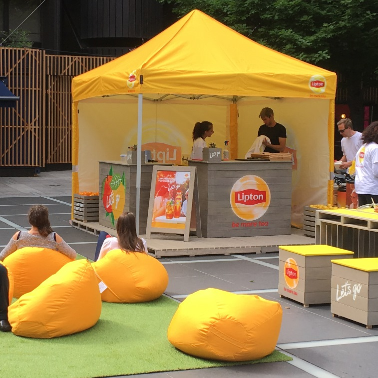 Lipton Ice Tea_Broadgate thumb