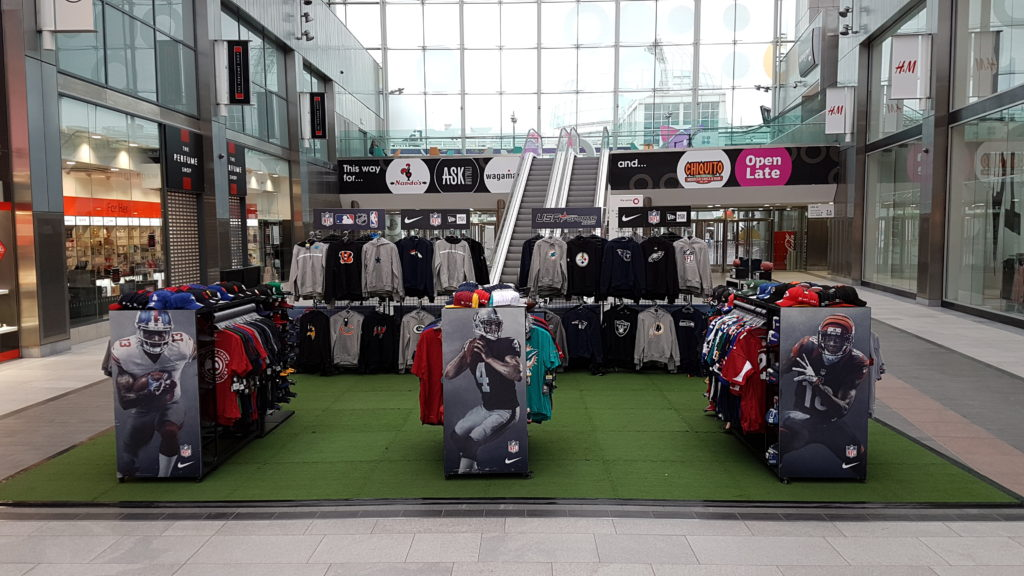USA Sports Pop-Up Shop at Centre Livingston