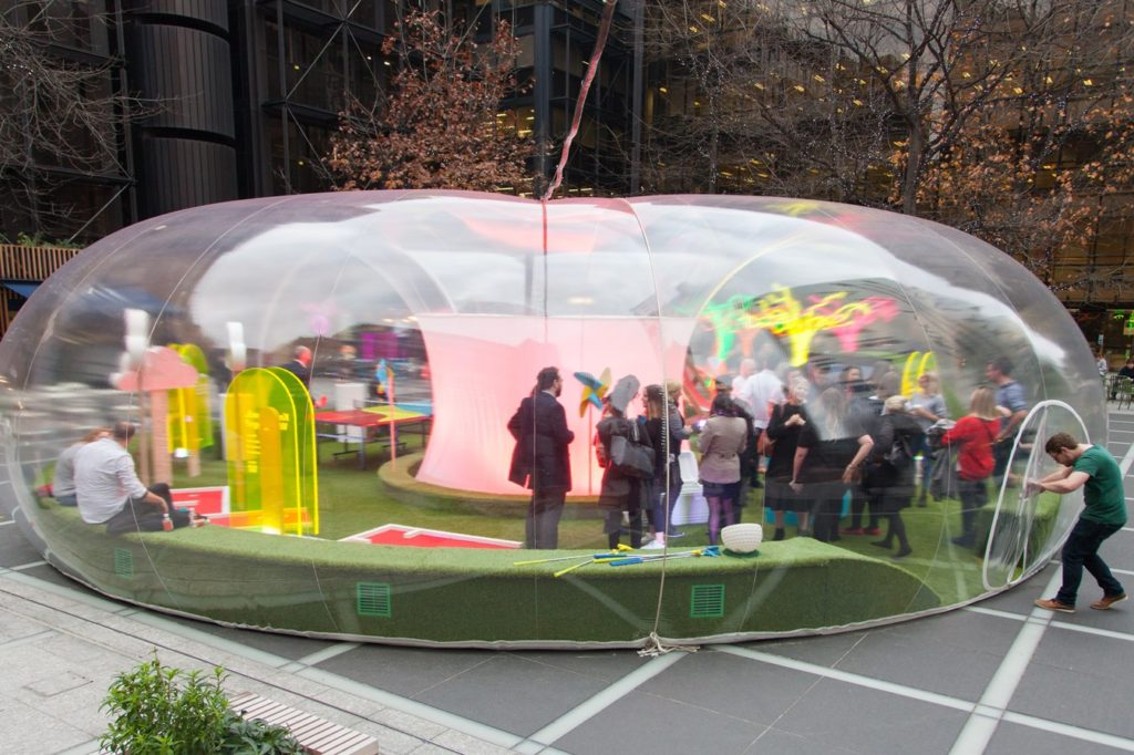 Eon Experiential Activity in Broadgate