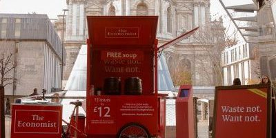 The Economist-Experiential Campaign at One New Change