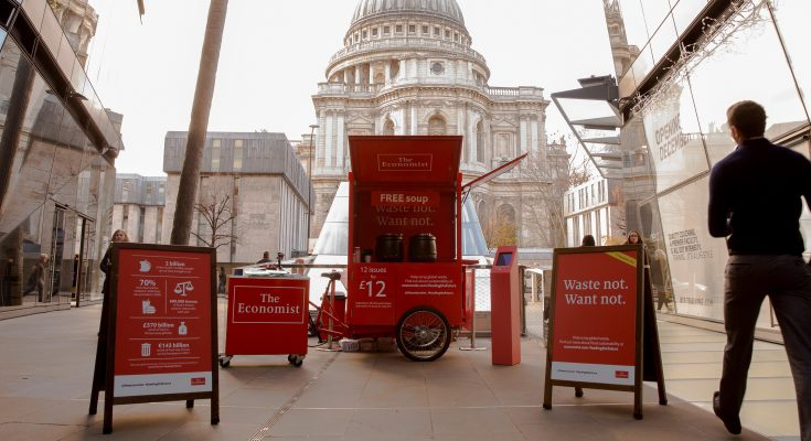 The Economist Experiential Campaign at One New Change