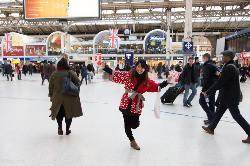Visit Japan at London Victoria Station