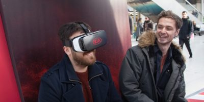 Kia Immersive Campaign at Waterloo