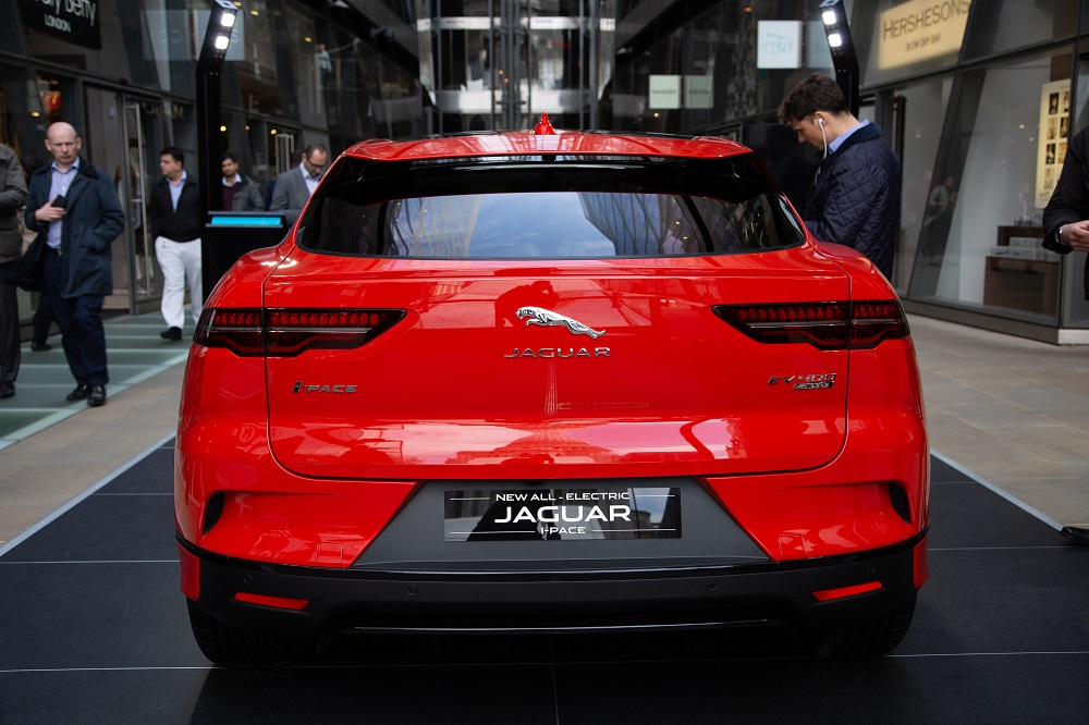 Jaguar I-PACE at One New Change