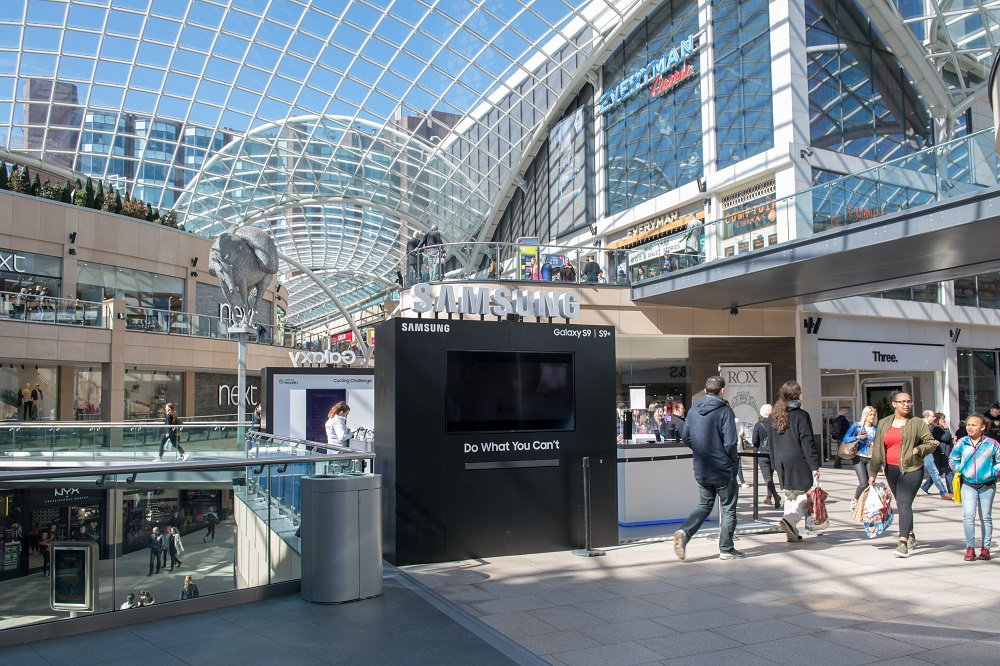 Samsung at Trinity Leeds Experiential
