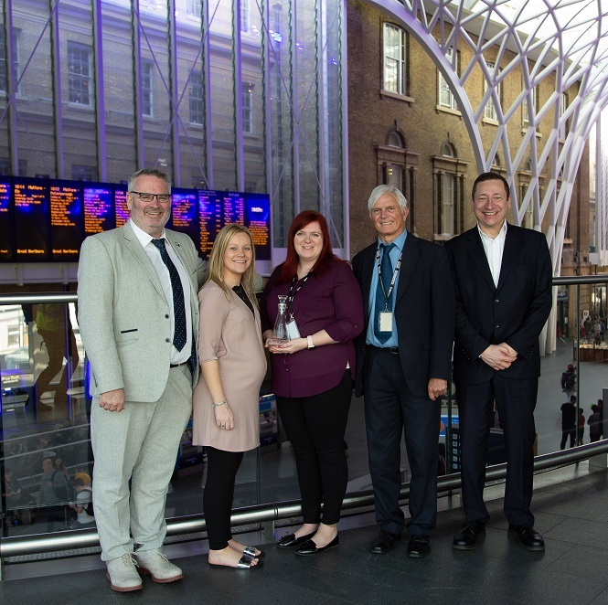 London King's Cross Station (Network Rail) and SpaceandPeople - Experiential Venue Team of the Year