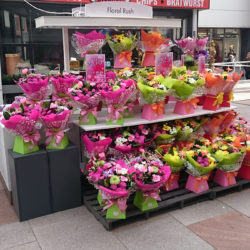 Floral Rush POP Retail Kiosk at Ayr Central Shopping Centre