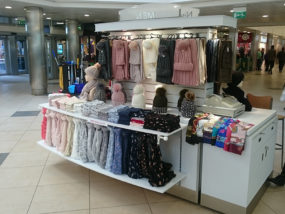 Nisa Accessories seasonal pop-up shop at The Galleries Shopping Centre