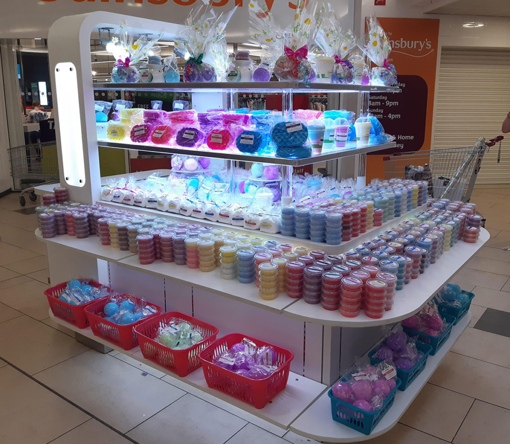Simply Scentz beauty pop-up shop at The Galleries Washington Shopping Centre