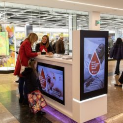 Promotional Kiosk at Meadowhall