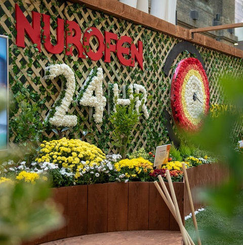 Nurofen at King's Cross Station Experiential Activation