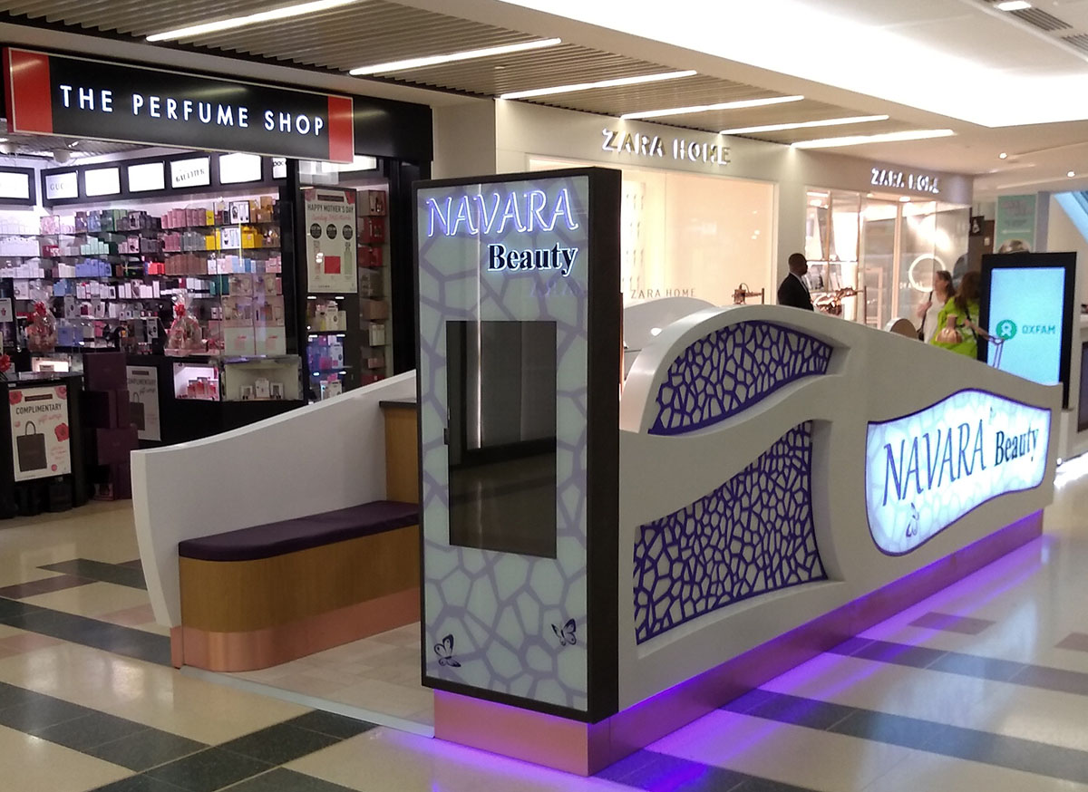 Beauty Kiosk The Friary Guildford Shopping Centre