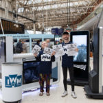 Free Space by SpaceandPeople Activate at Network Rail stations. The Imperial War Museum at London Waterloo Station