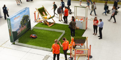 Flymo latest lawnmower in Central London