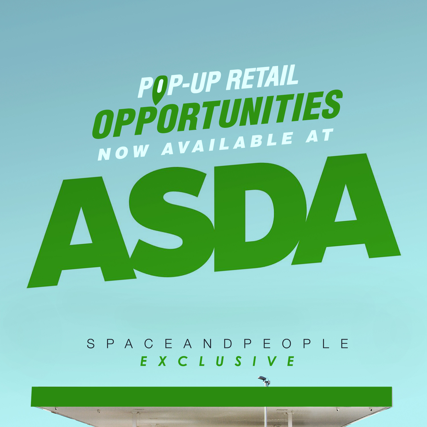 Pop-Up Retail Opportunities at Asda SpaceandPeople