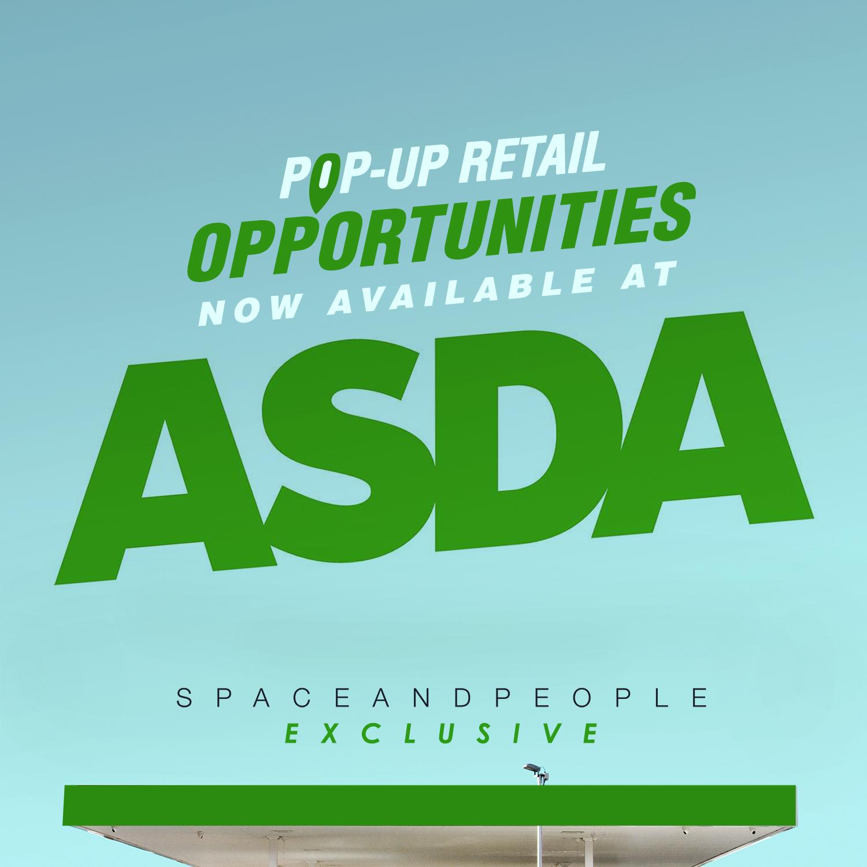Pop-Up Retail Opportunities at Asda SpaceandPeople