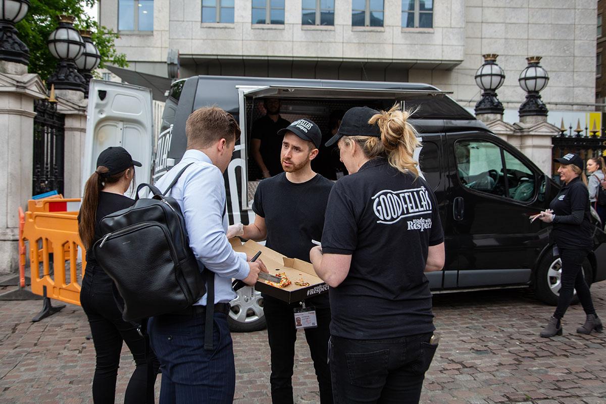 Goodfellas Pizza Experience London