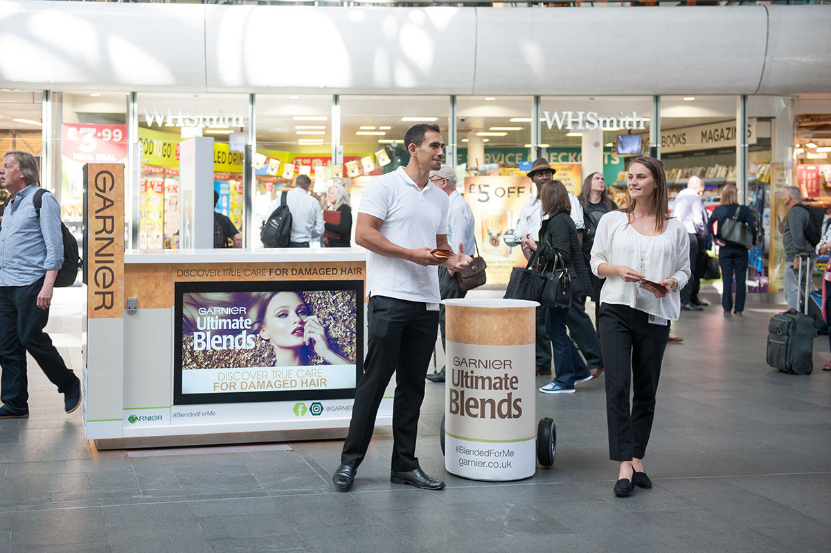 Garnier Sampling Campaign London King's Cross