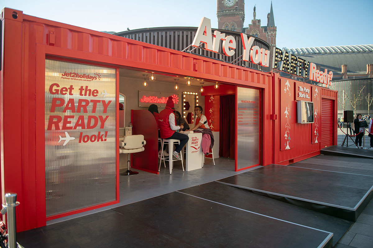 Jet 2 Activation Central London