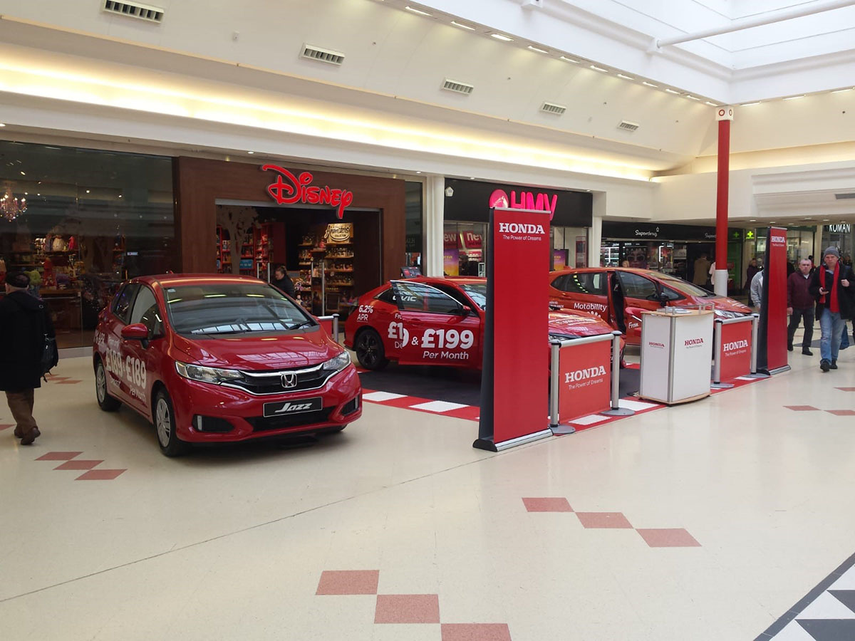 Honda Consumer Brand Activation, Sunderland.
