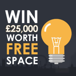 Win £25,00 Worth of Free Experiential Space