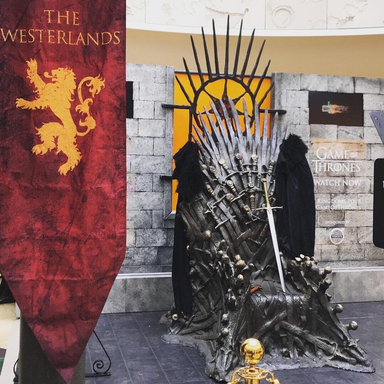 Game of Thrones Tour Shopping Centre Cardiff