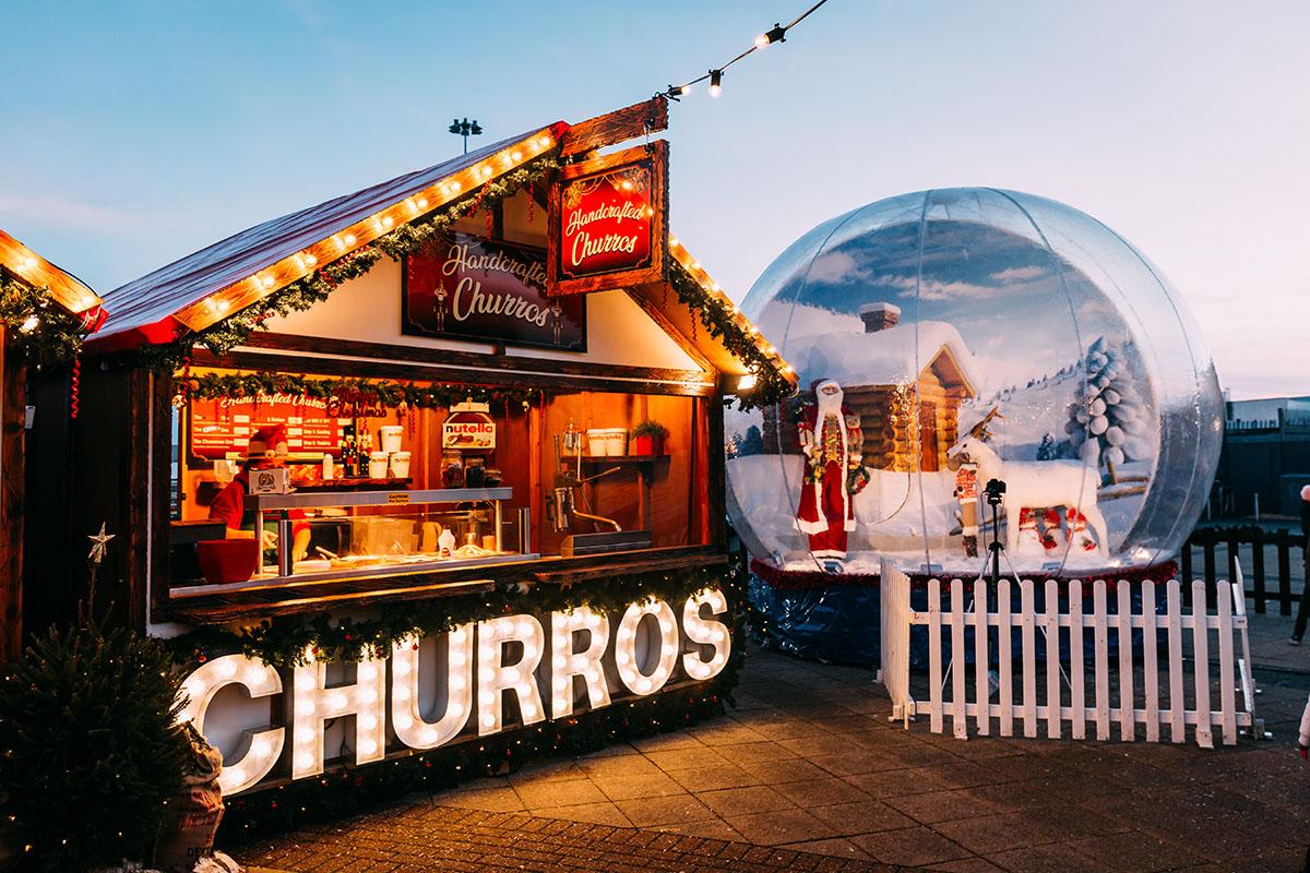 Christmas Market Glasgow Fort