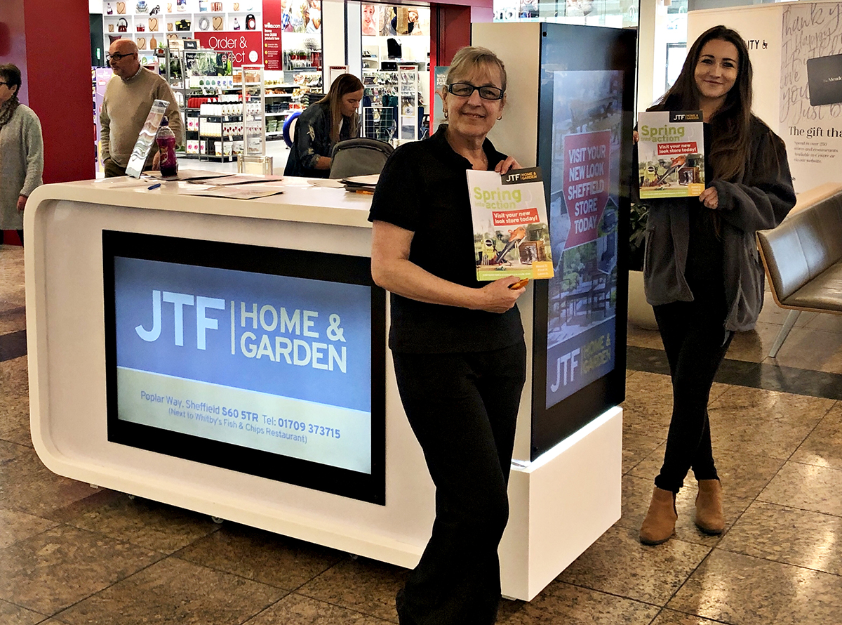 JTF Mega discount Store Shopping Centre Sheffield