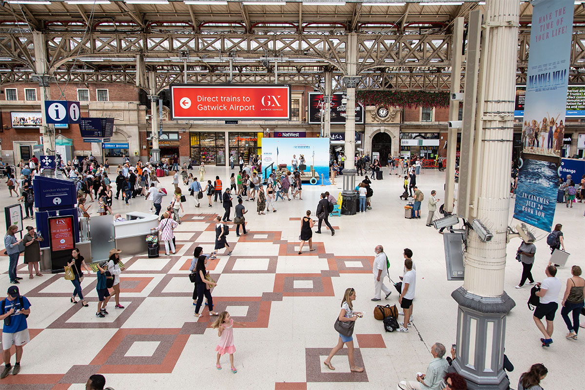 Central London Train Station