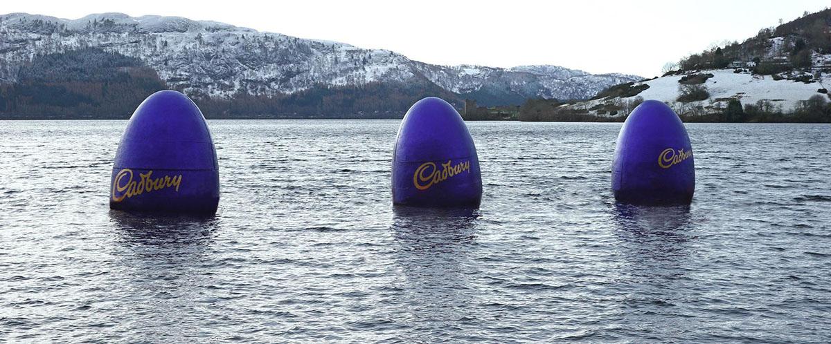 Loch Ness Cadbury